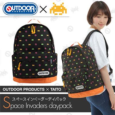 OUTDOOR PRODUCTS × TAITO スペースインベーダー デイパック