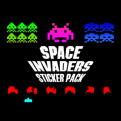 SpaceInvadersStickerPack