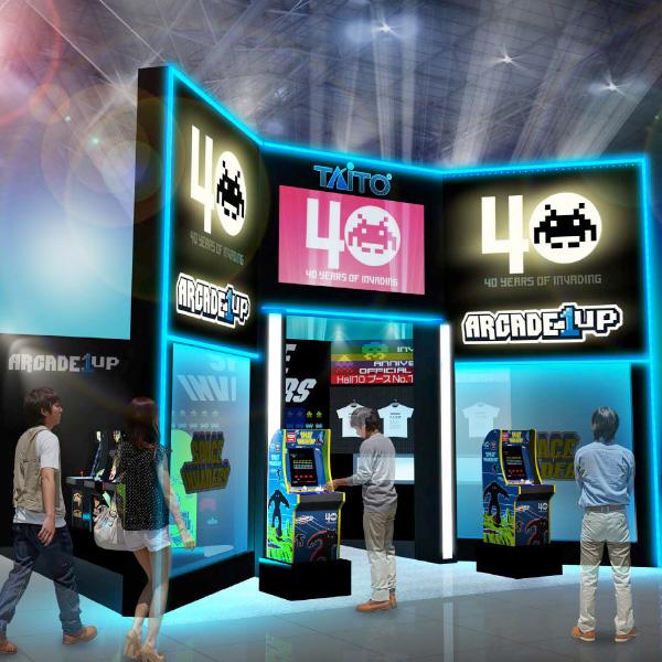 「ARCADE1UP」東京ゲームショウ2018にて先行公開! 憧れの名機「スペースインベーダー」「パックマン」「ギャラガ」が3/4スケールで復刻!