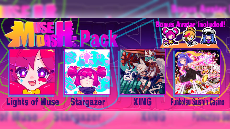GROOVE COASTER 2 Original Style with Muse Dash Pack Added!