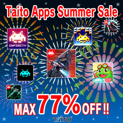 TAITO Announces Summer Sale, Get DARIUSBURST SP and Top Apps For Up to 77% Off