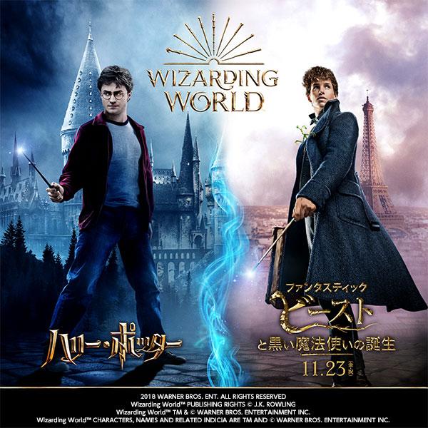 「ハリー・ポッター & ファンタスティック・ビースト 魔法ワールドカフェ」の特設ページにて、映像エリアの先行予約受付を開始しました!
