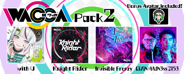 """GROOVE COASTER 2 Original Style with """"WACCA Pack 2"""" Added!"""