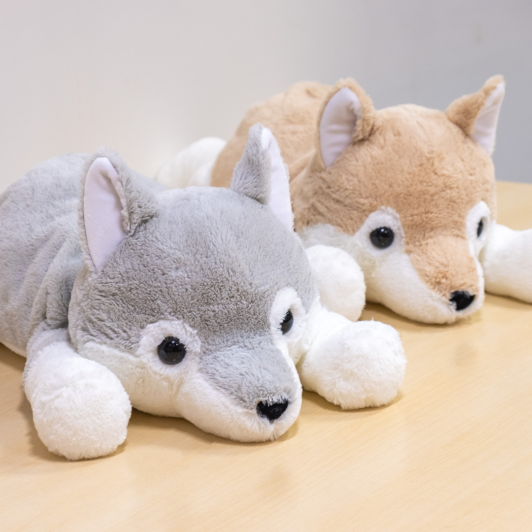 くったりオオカミ寝そべりBIG・T(全2種)