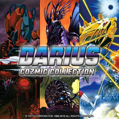 歴代の『ダライアス』シリーズ作品を移植した『ダライアス コズミックコレクション』本日発売!
