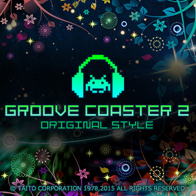 『グルーヴコースター2 オリジナルスタイル』にTAITO GAME MUSIC REMIXSパック配信!
