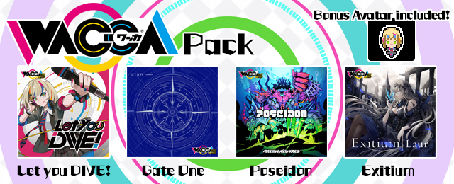 GROOVE COASTER 2 Original Style with WACCA Pack Added!!