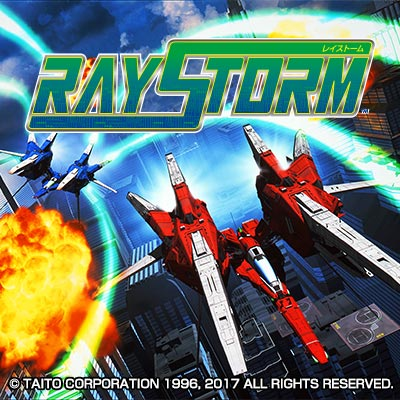 RAYSTORM, the second installment in TAITO's RAY series, is available!