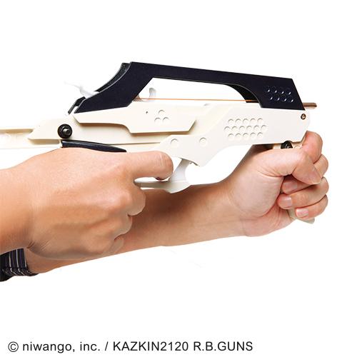 ニコニコ技術部 フルオートマチック連射式ゴムガン Yeti24-PZ