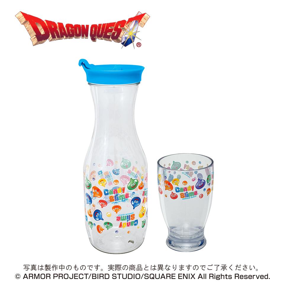 ドラゴンクエスト AM キャンディスライム 冷茶ポット&グラス