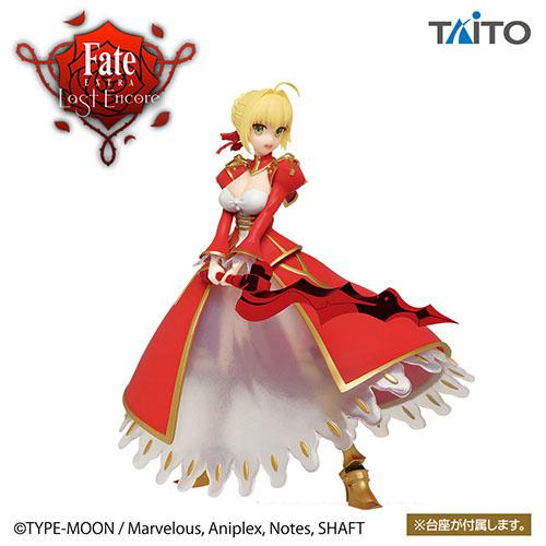 Fate/EXTRA Last Encore セイバーフィギュア
