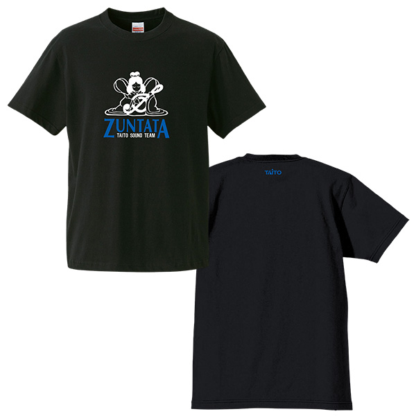ZUNTATAロゴ Tシャツ 2nd
